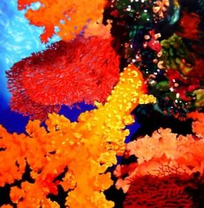 e40ba bloom iv.115x115cm.2004