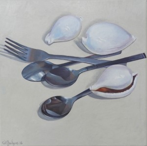 Still Life with Egg Cowries