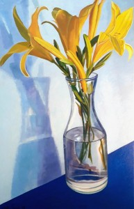 ''Yellow lillies''